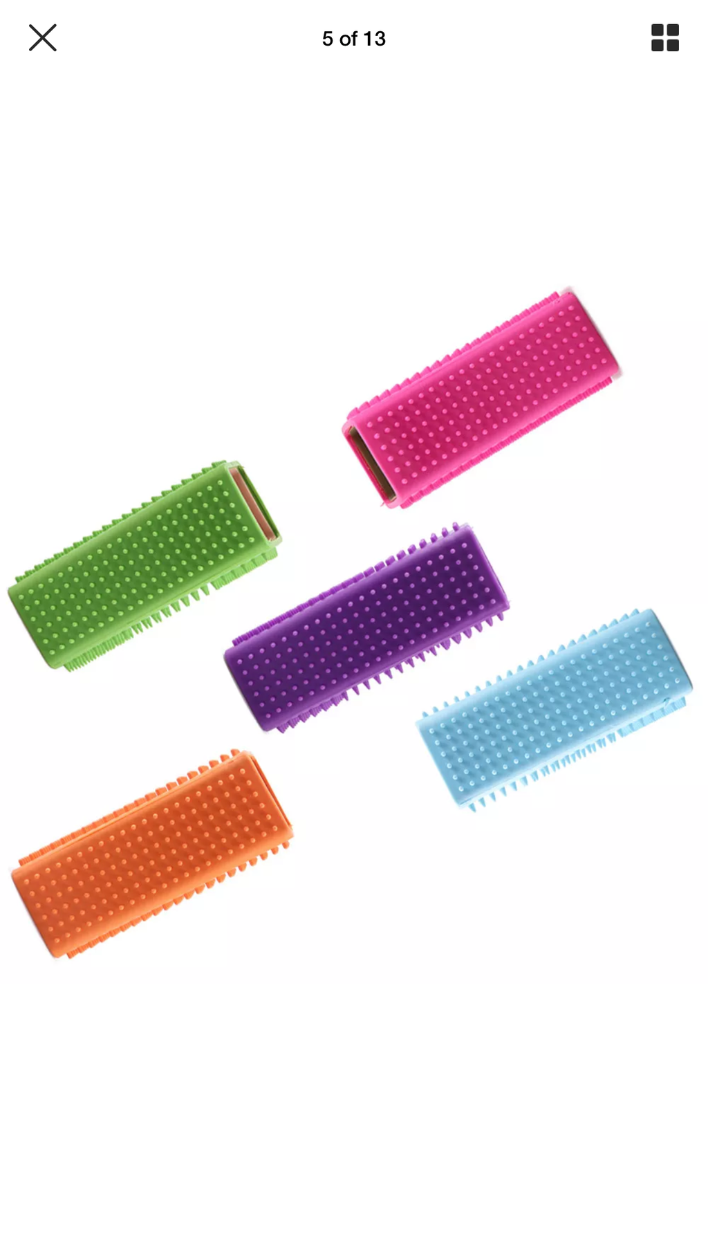 Grooming block - hair removal brush