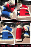 Red or blue boots(set of 4)