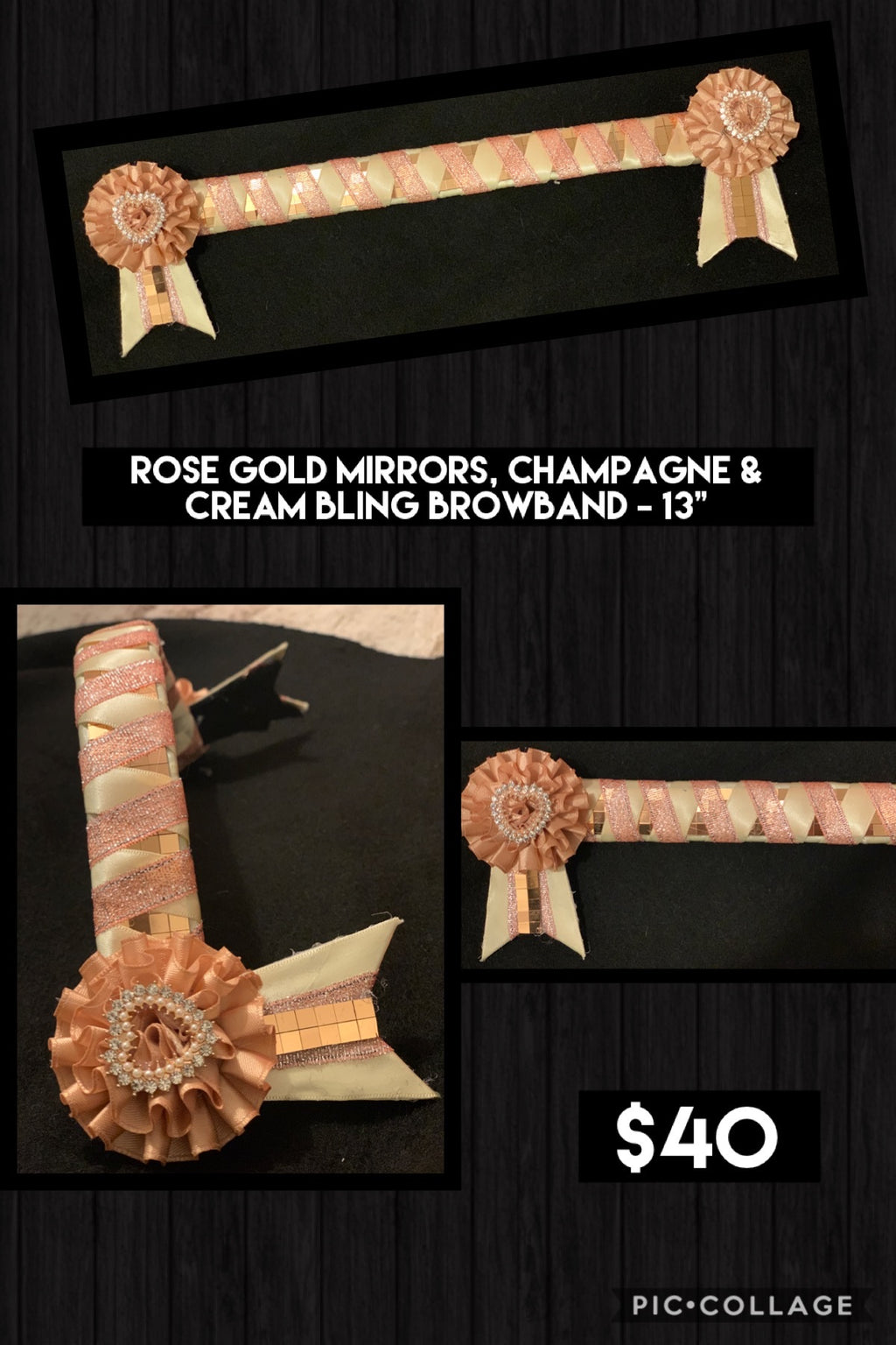 SALE - Instock browbands