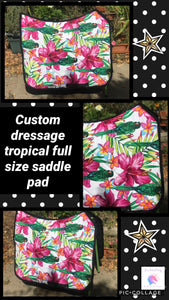 Tropical saddle pad
