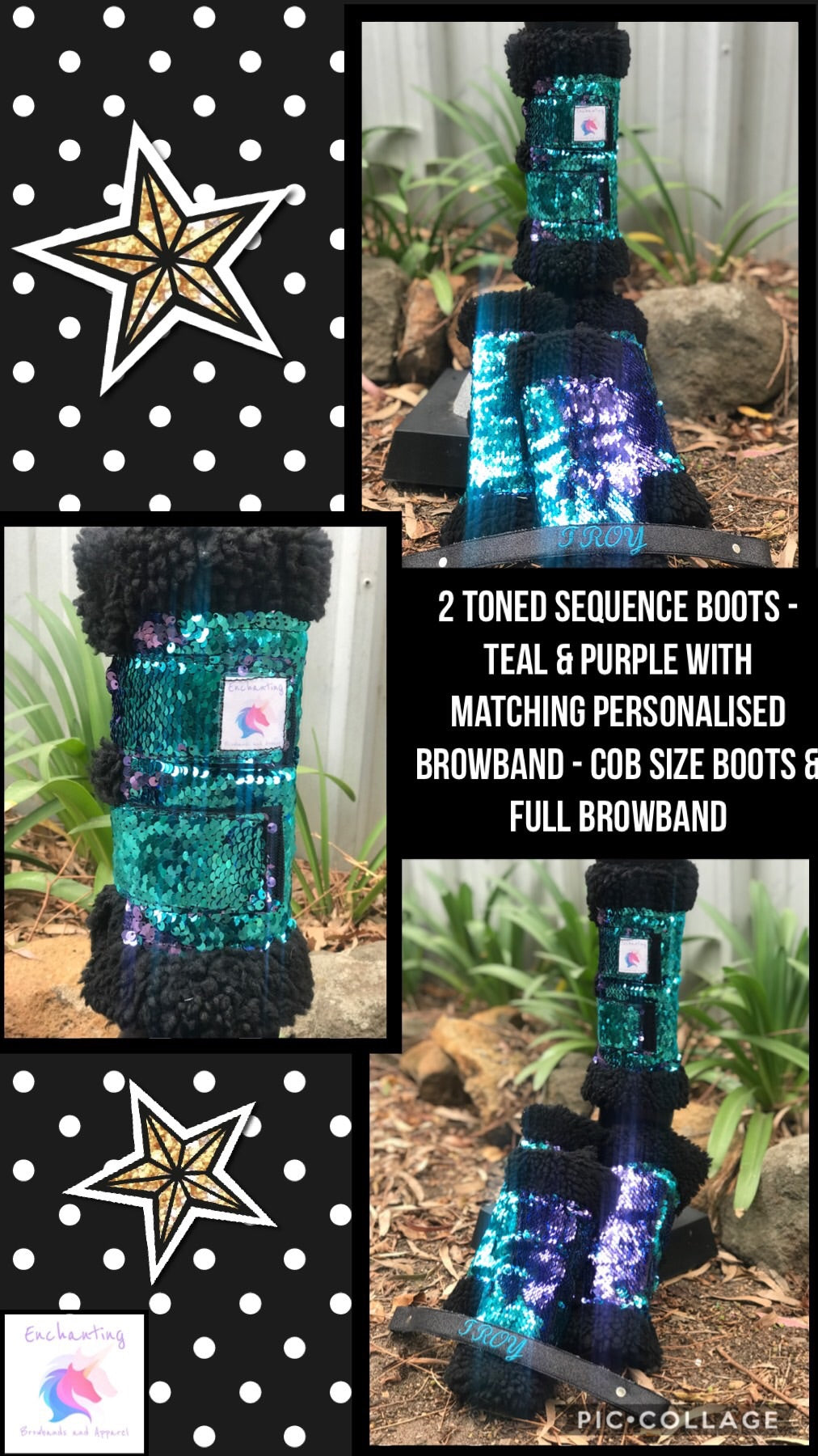 2 toned sequence - boots set of 4, wide range of colours available