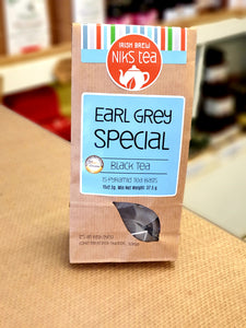 Niks Tea Earl Grey Special Black Tea