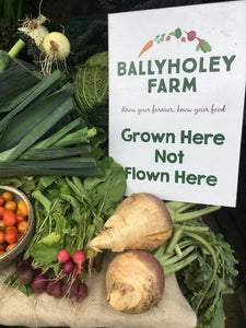 Ballyholey fruit & vegetable box-€30.00