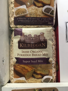 Kilbeggan Irish Organic Porridge Bread Mix - Super Seed Mix 450g