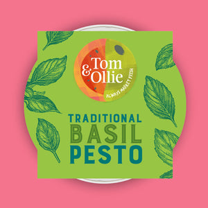 Tom & Ollie Traditional Basil Pesto 150g