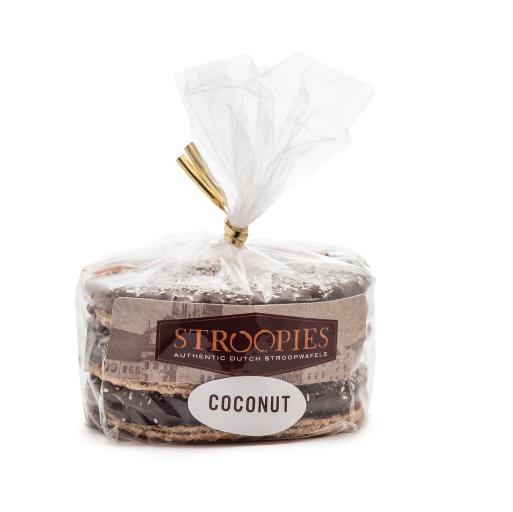 Coconut/Chocolate Stroopwafel