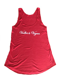 Bamboo Racerback Tank-Vodka is Vegan