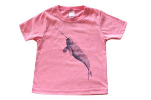 Kids and Youth T-shirts with Narwhal