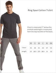 Ring Spun Cotton T-Shirt- Great White Shark