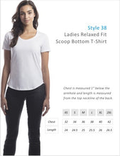 Scoop bottom size chart