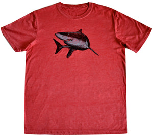 Unisex T-shirt - Great White Shark Design