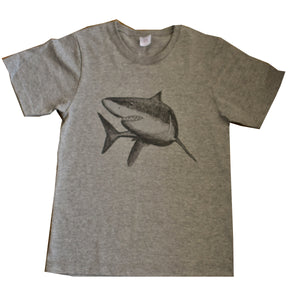 Kid's and Youth Ring Spun Cotton - Shark Design