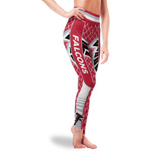 Small Line Circle Stylish Fashion Atlanta Falcons Leggings