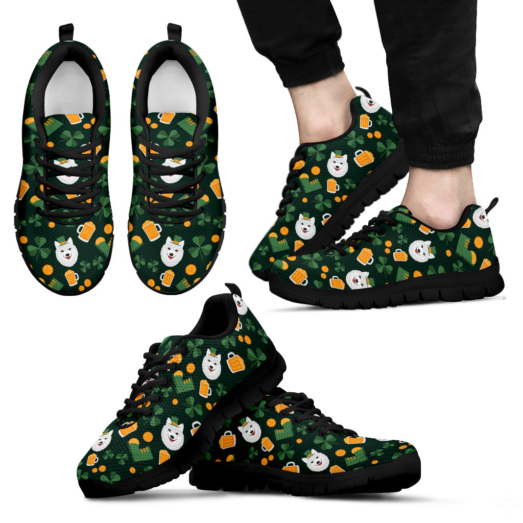 Nice Samoyed Sneakers - Lucky Samoyed, is a cool gift for friends