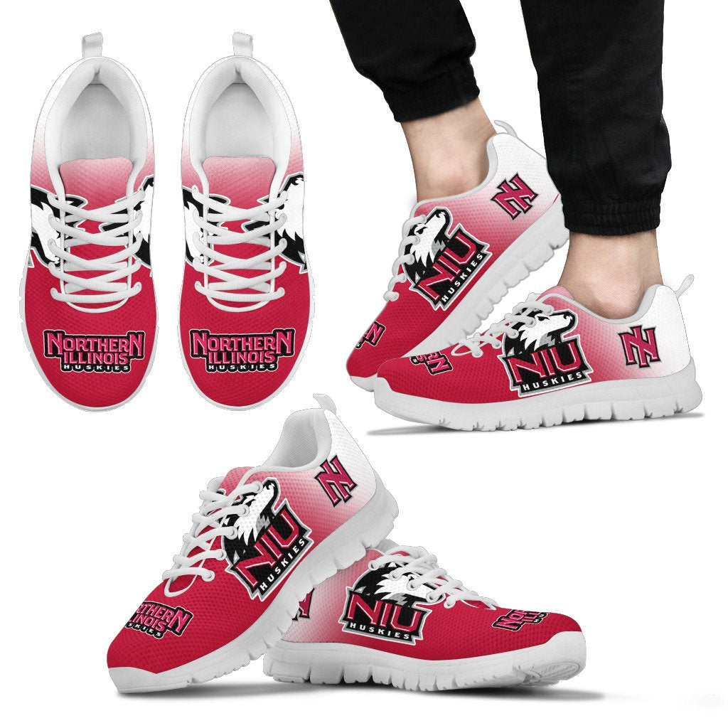 Awesome Unofficial Northern Illinois Huskies Sneakers