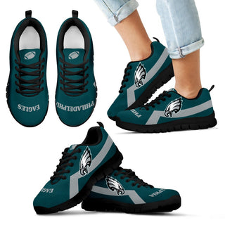 Philadelphia Eagles Line Logo Sneakers
