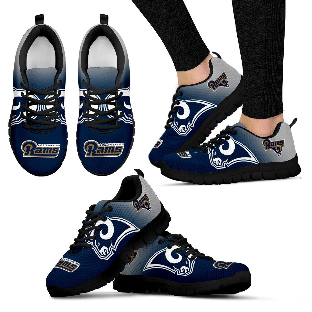 Awesome Unofficial Los Angeles Rams Sneakers