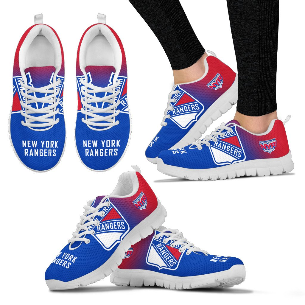 Awesome Unofficial New York Rangers Sneakers