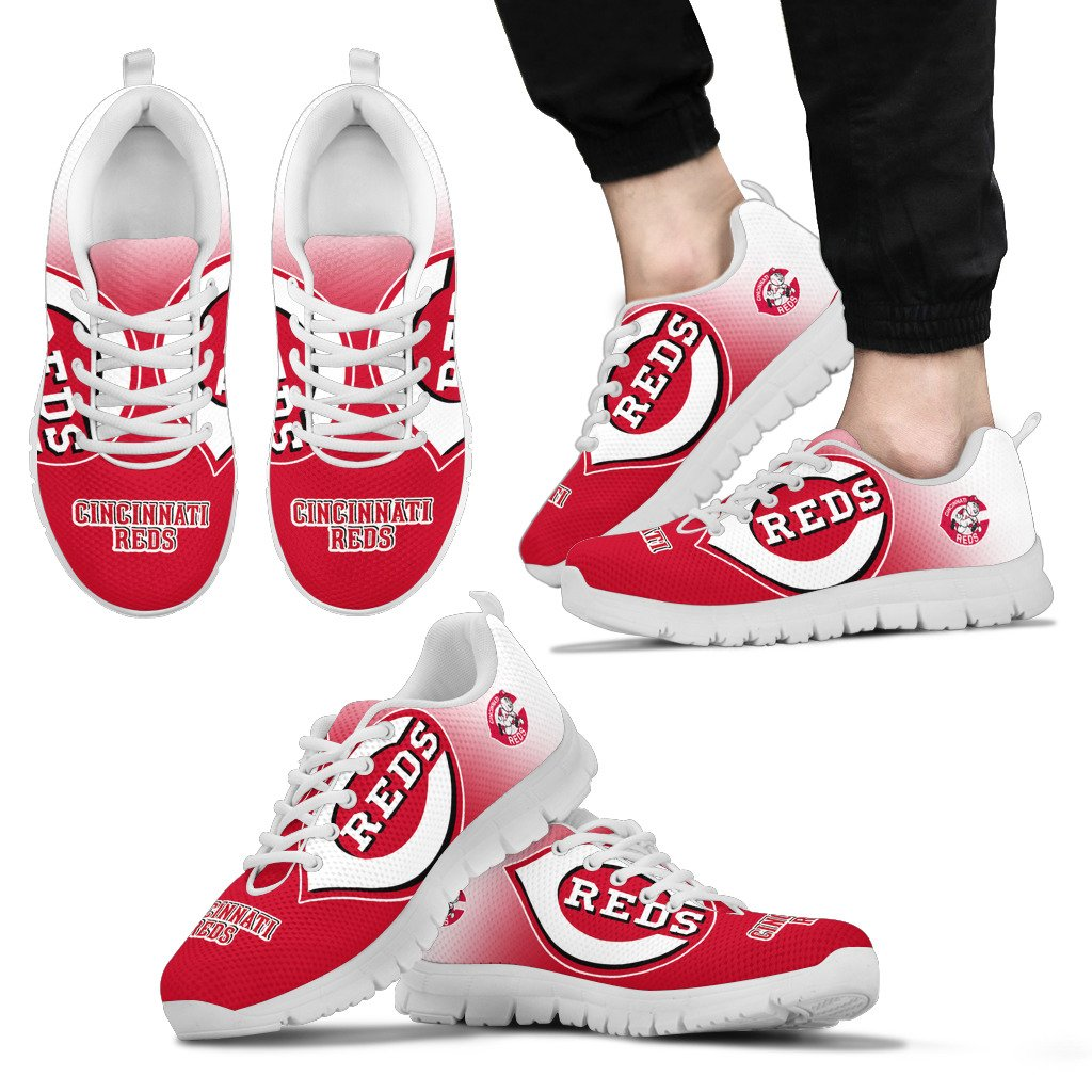 Awesome Unofficial Cincinnati Reds Sneakers