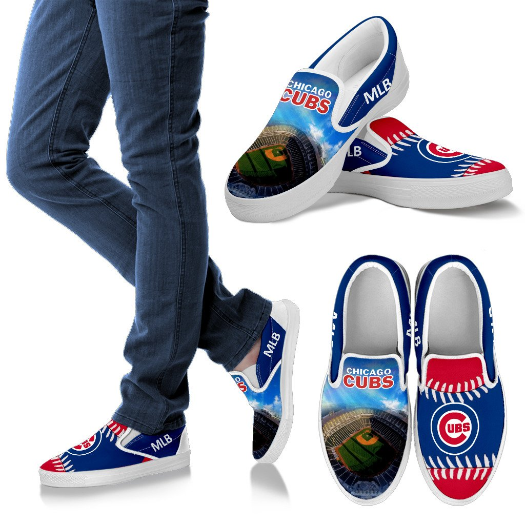 Proud Of Stadium Chicago Cubs Slip-on Shoes