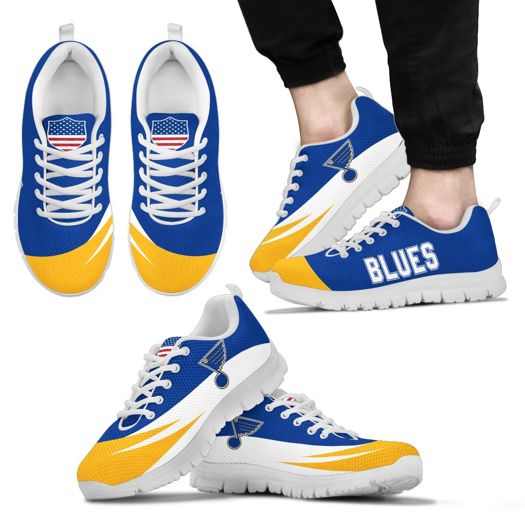 Special Gift Logo St. Louis Blues Sneakers