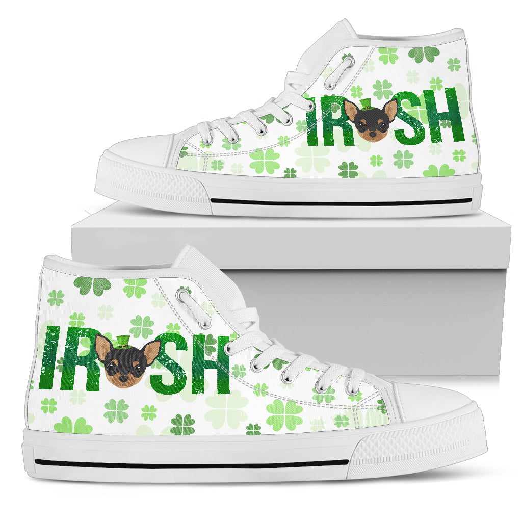 Irish Chihuahua High Top Shoes