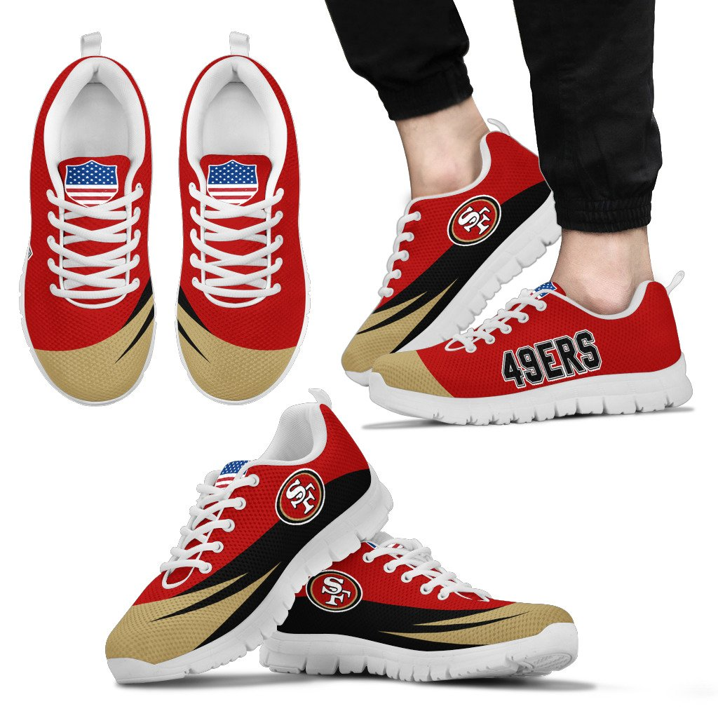 Special Gift Logo San Francisco 49ers Sneakers