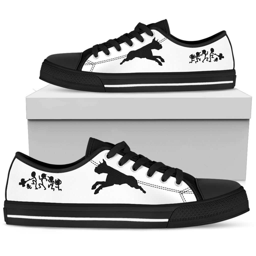 My Boxer Ate Your Stick Family Low Top Shoes