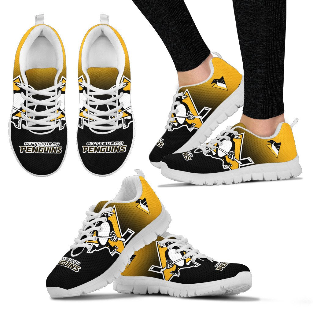 Awesome Unofficial Pittsburgh Penguins Sneakers