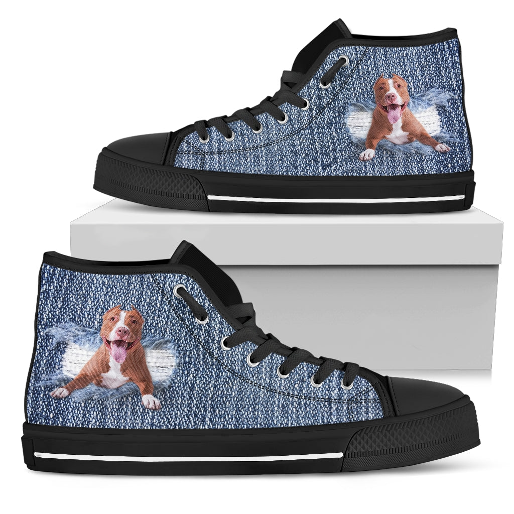 Pitbull Break The Wall High Top Shoes