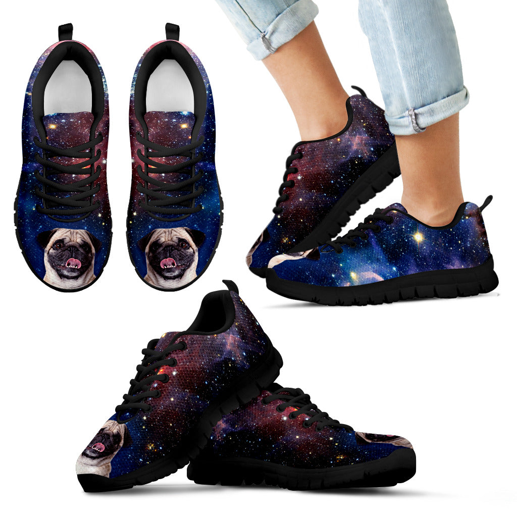 Nice Pug Sneakers - Galaxy Sneaker Pug, is cool gift for friends