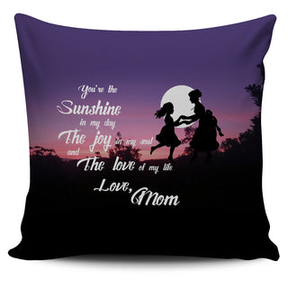Beautiful To My Daughter Pillow Covers