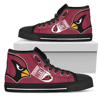Straight Outta Arizona Cardinals High Top Shoes