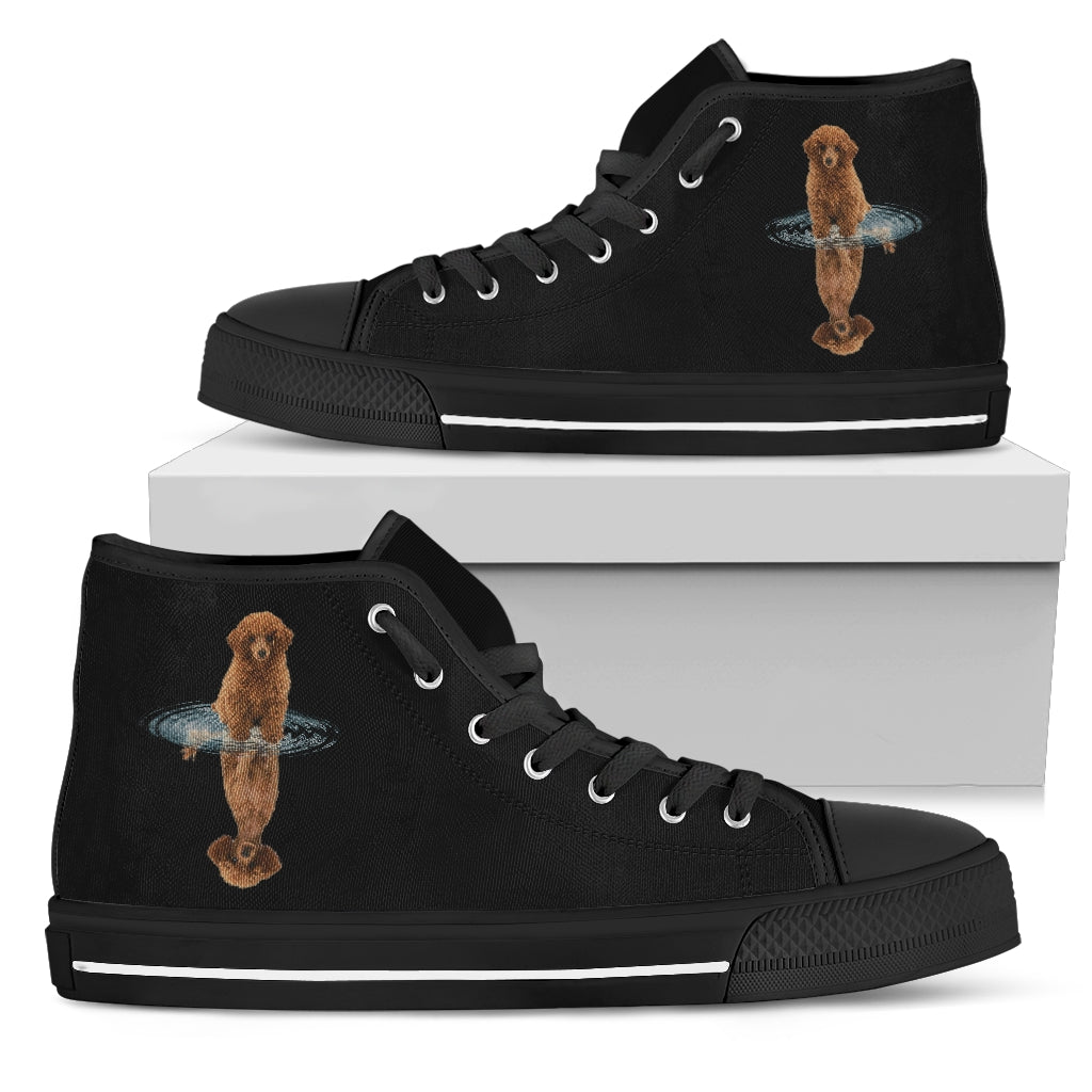Poodle Dream Reflect Water High Top Shoes