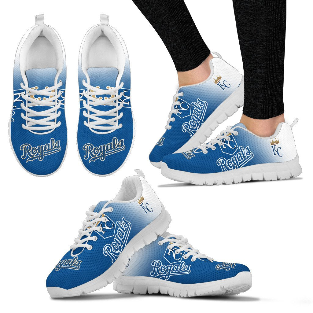 Awesome Unofficial Kansas City Royals Sneakers