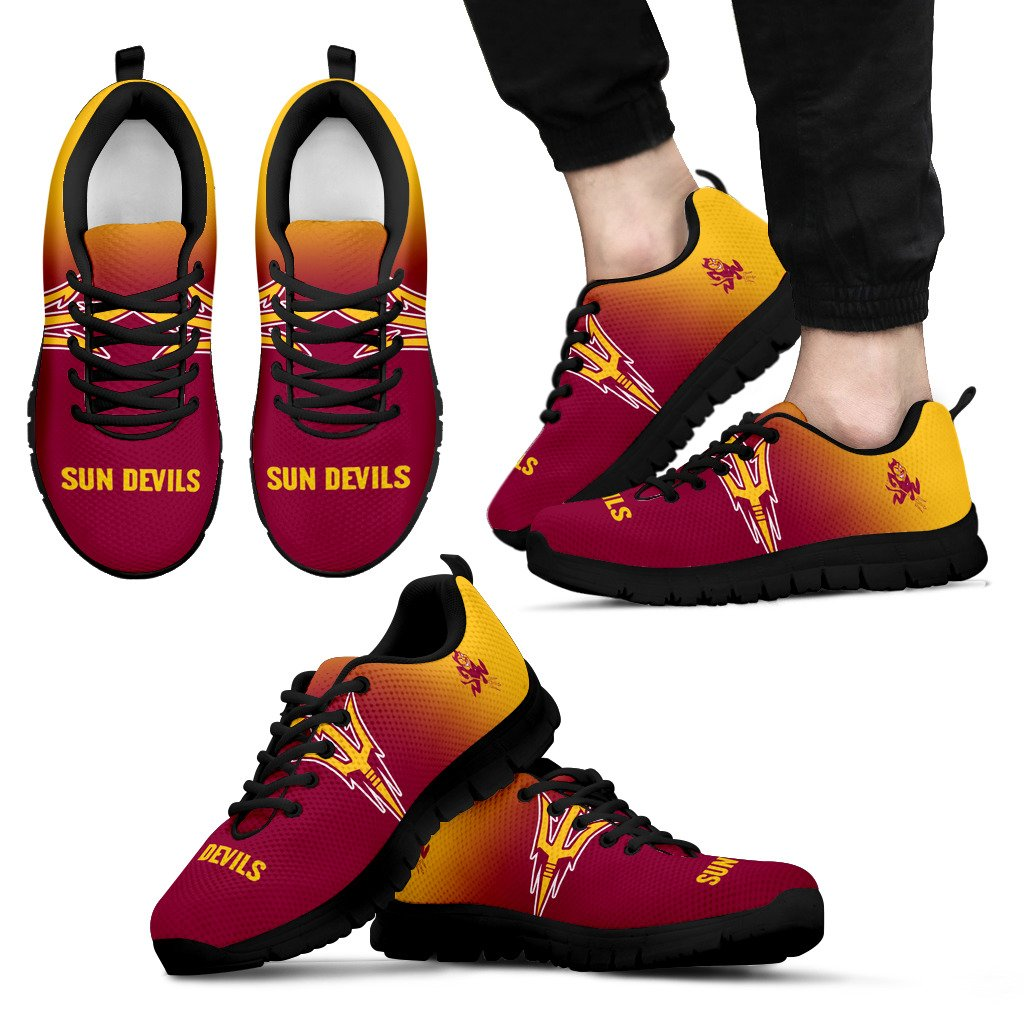Awesome Unofficial Arizona State Sun Devils Sneakers