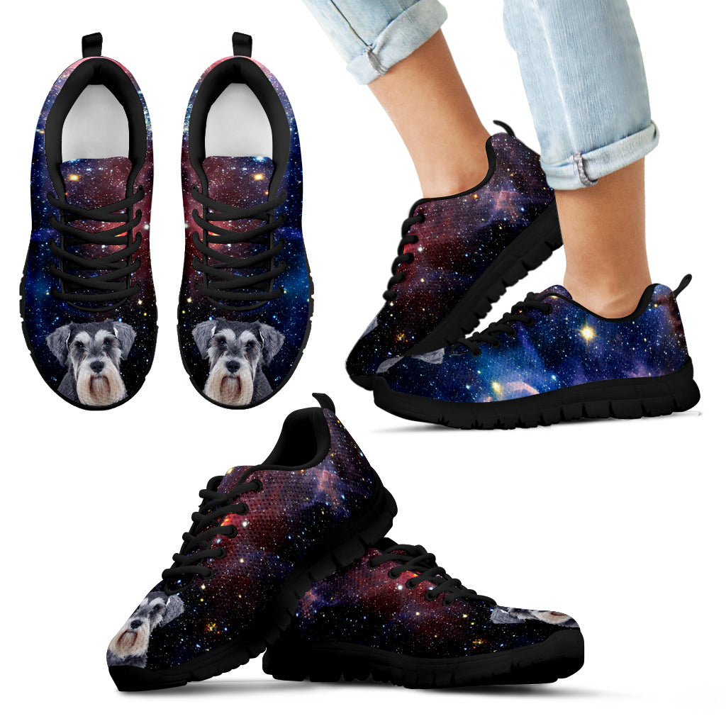 Nice Schnauzer Sneakers - Galaxy Sneaker Schnauzer, is cool gift for you