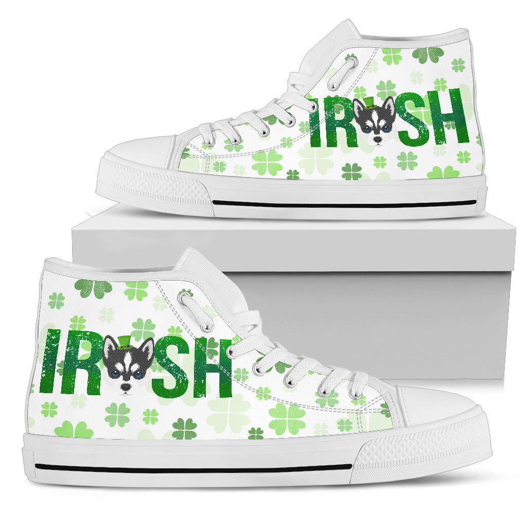 Irish Husky High Top Shoes