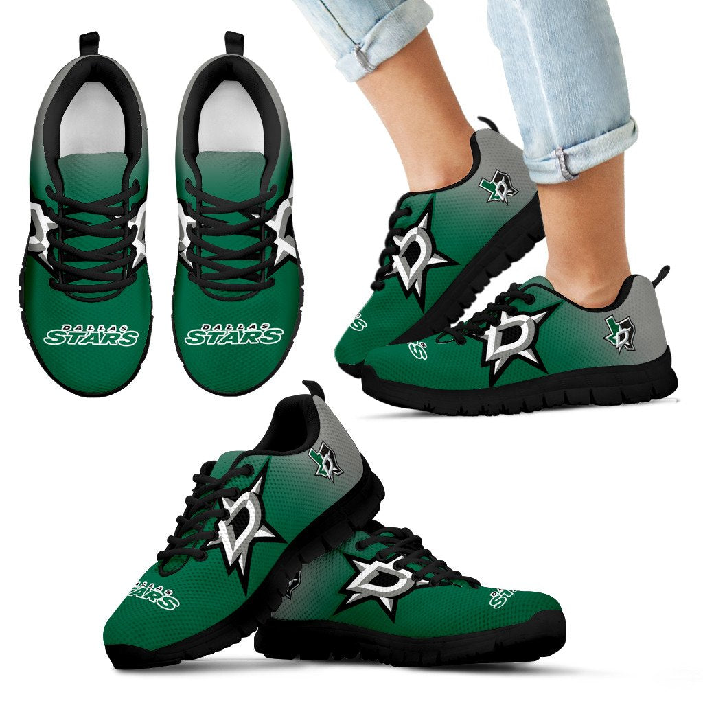 Awesome Unofficial Dallas Stars Sneakers