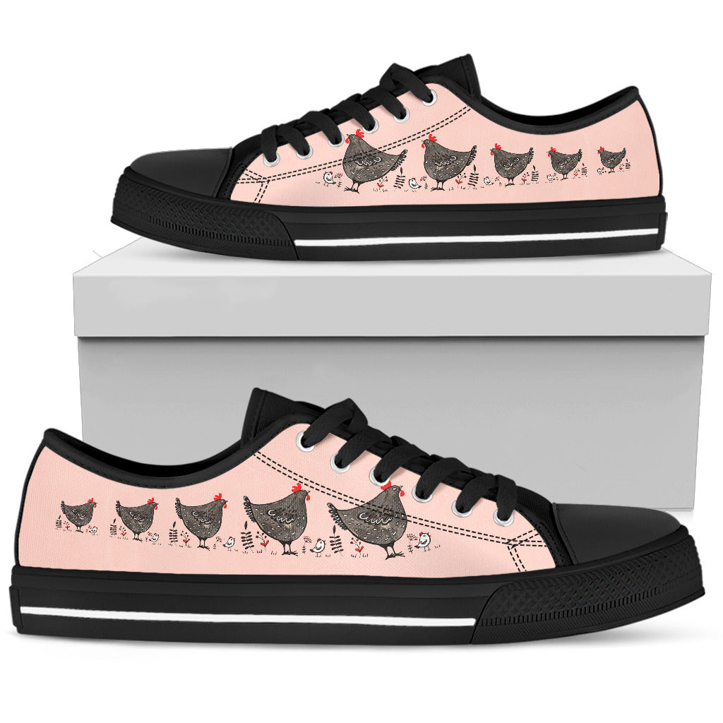 Chicken Low Top Shoes Amazing Cute For Kids Girls