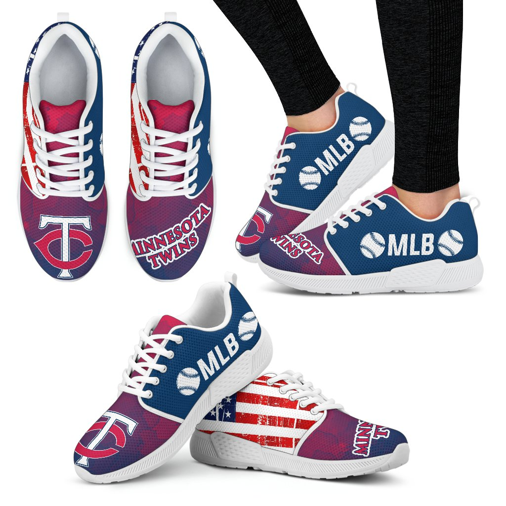 Awesome Fashion Minnesota Twins Shoes Athletic Sneakers