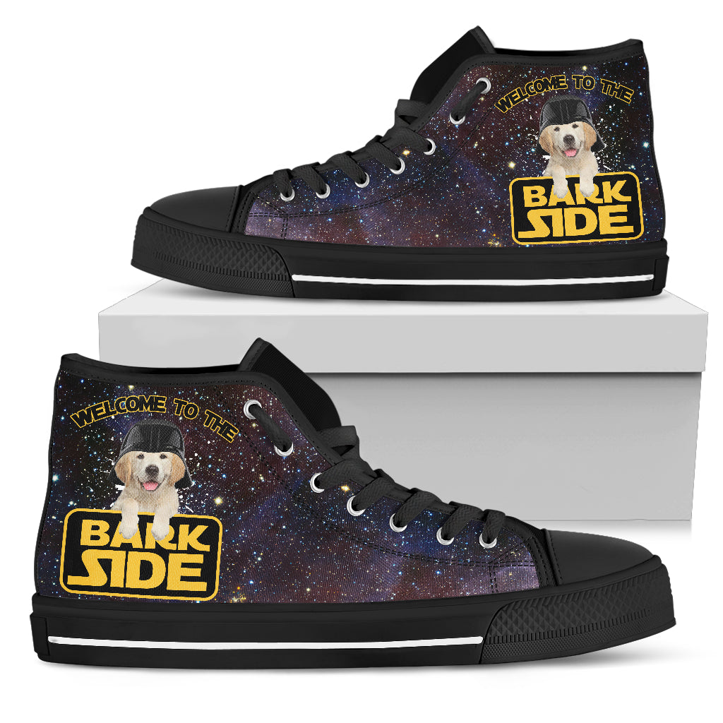 Star Paws Labrador High Top Shoes