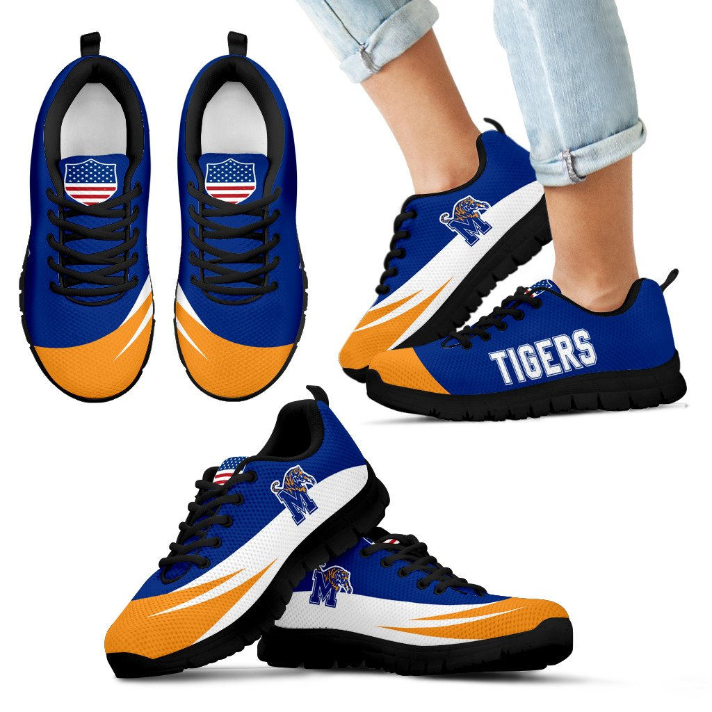 Special Gift Logo Memphis Tigers Sneakers