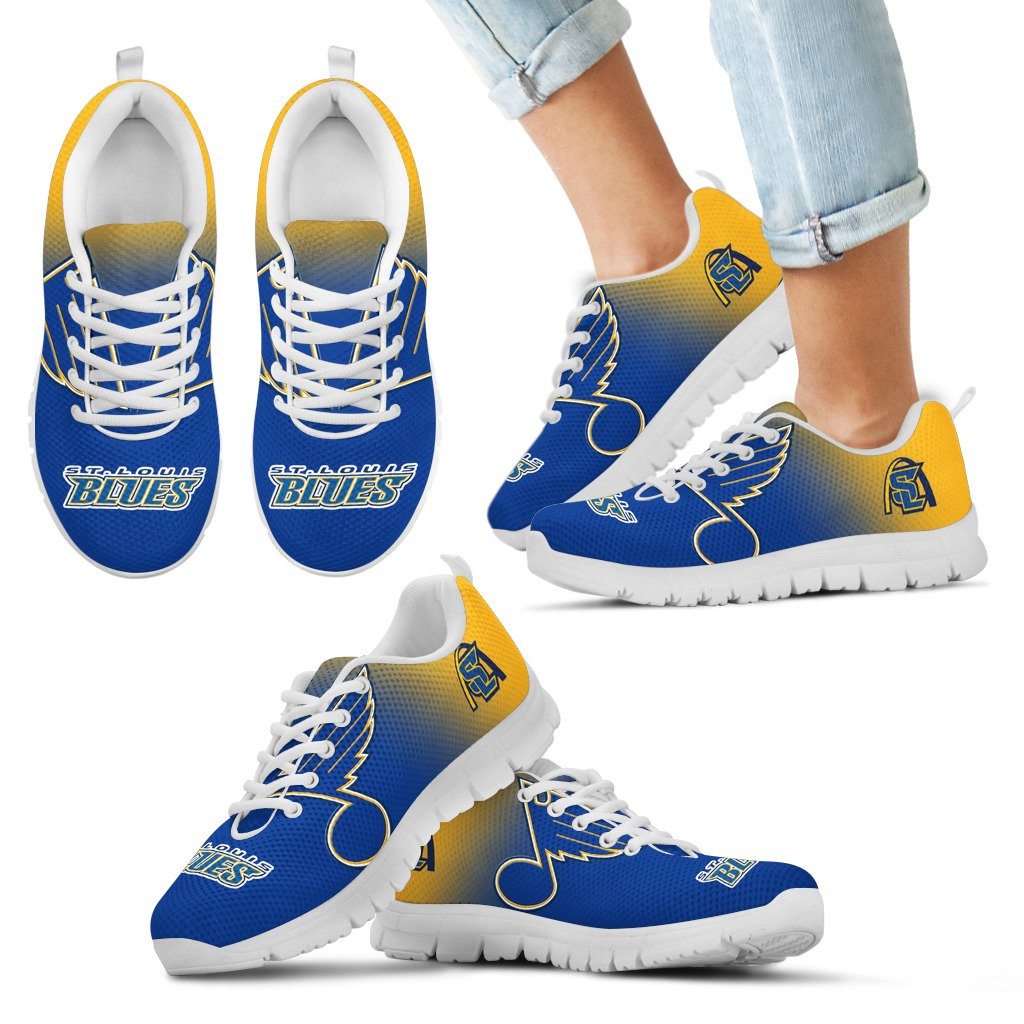Awesome Unofficial St. Louis Blues Sneakers