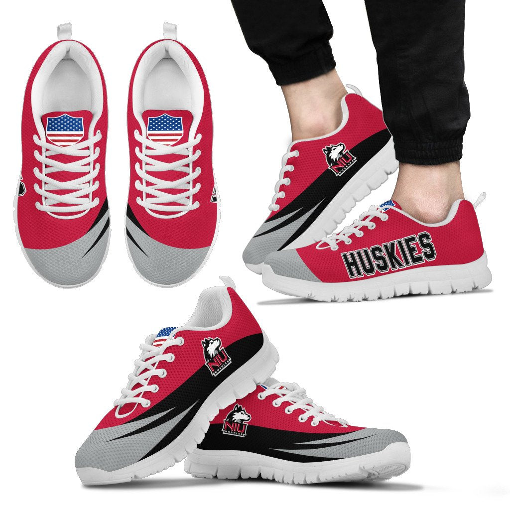 Special Gift Logo Northern Illinois Huskies Sneakers