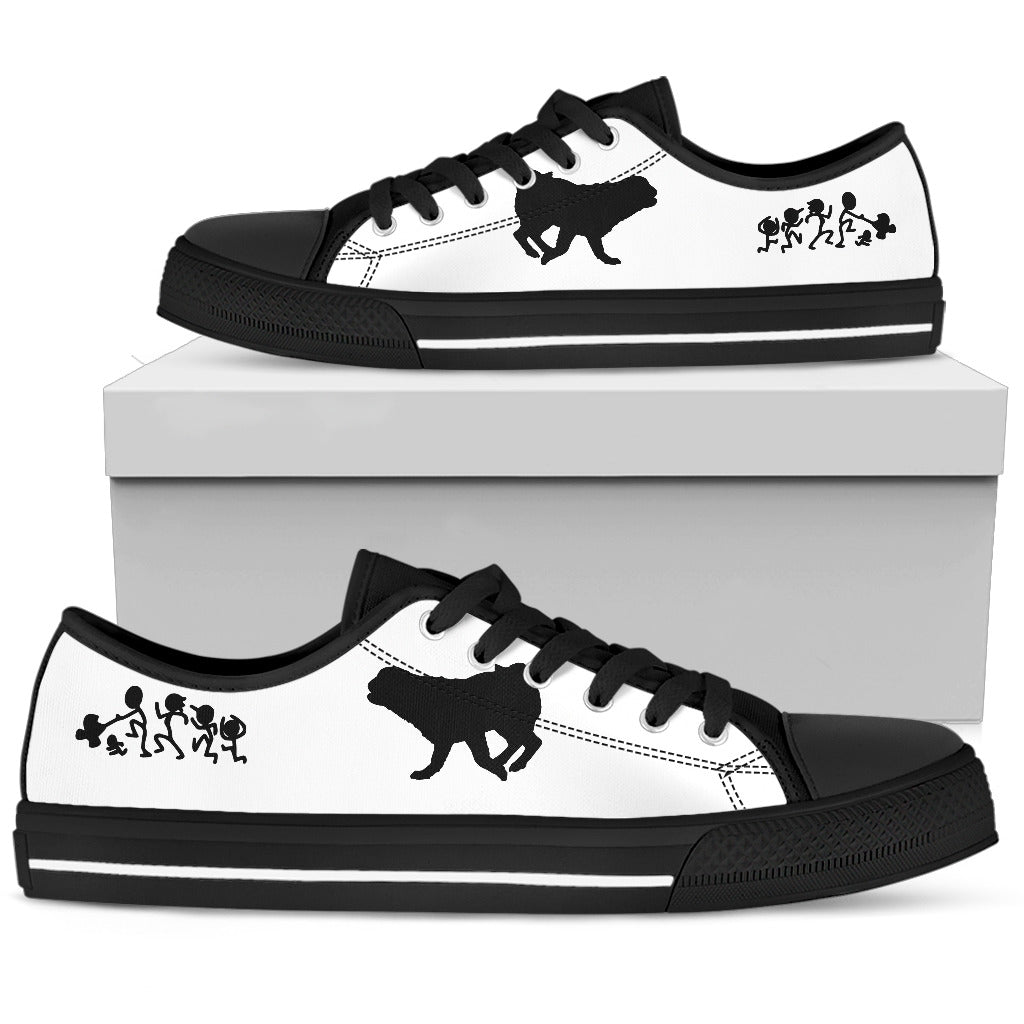 My Pug Ate Your Stick Family Low Top Shoes
