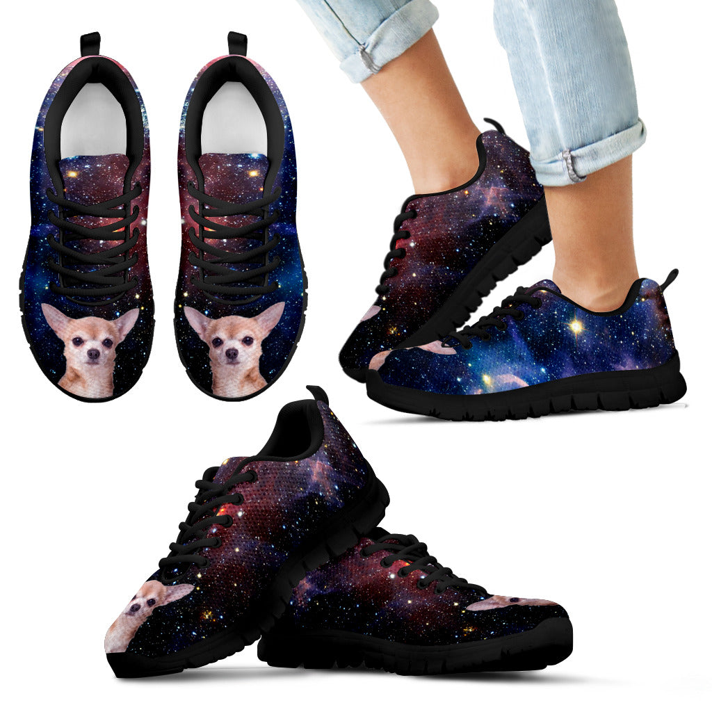 Nice Chihuahua Sneakers - Galaxy Sneaker Chihuahua, is cool gift for you