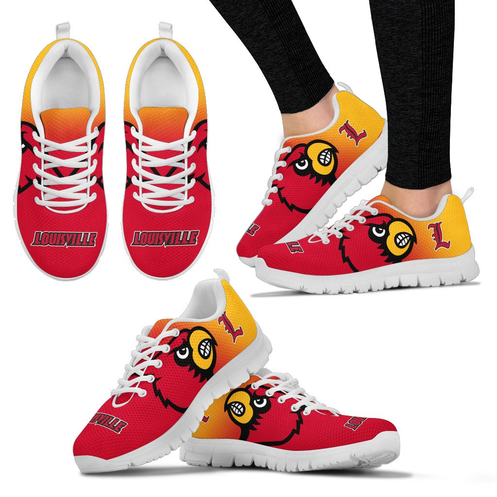 Awesome Unofficial Louisville Cardinals Sneakers