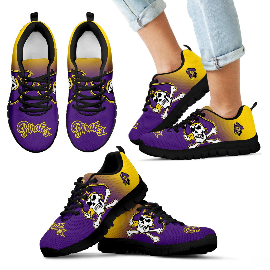 Awesome Unofficial East Carolina Pirates Sneakers