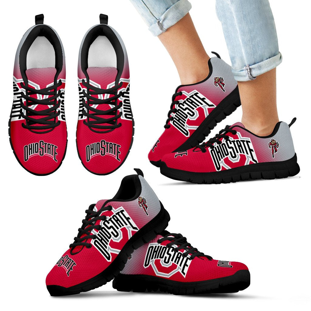 Awesome Unofficial Ohio State Buckeyes Sneakers